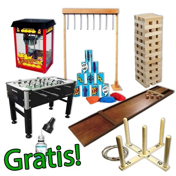 Feestpakket Coronaproof Kids Indoor